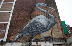 Street art in East London