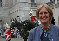 Mary with Horse Guards